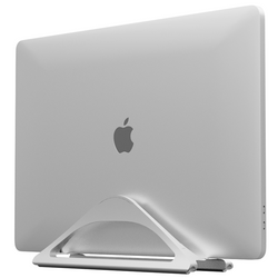 Vertical Laptop Stand (Silver)