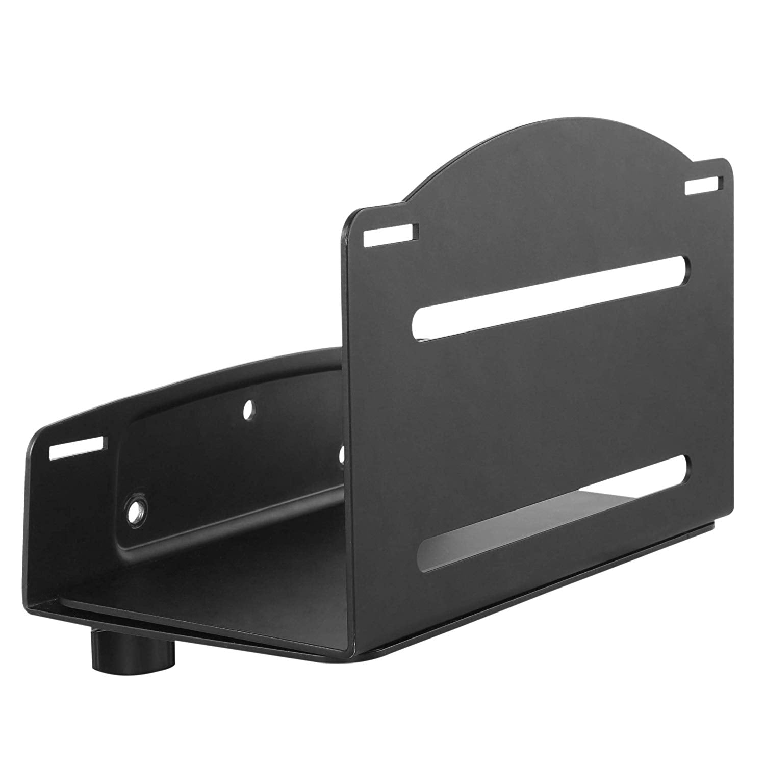 Computer Tower Wall Mount - Adjustable Bracket Fits Most Computer Cases
