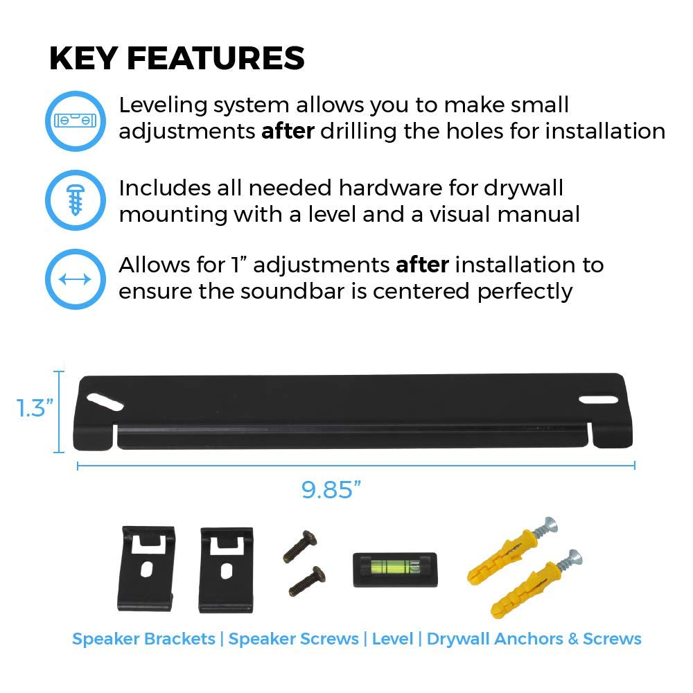 Mounts Designed in The UK by Soundbass Solo 5 Wall Mount Kit for ...