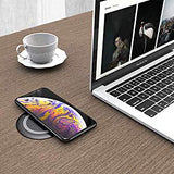 Desktop Wireless Charger - Grommet Power Charging Pad for Desk