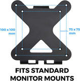 VESA Adapter Bracket for HP Pavilion cw/xw Series Monitors