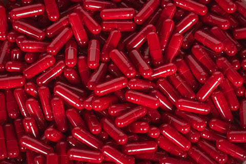 Gelatin Size 4, Red Colour, Capsules