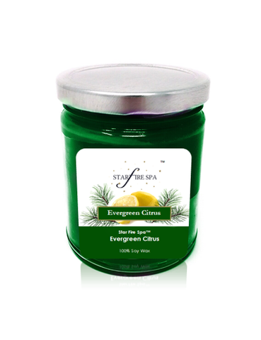 Evergreen Citrus Soy Candle