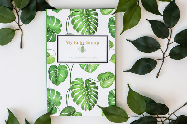 Palm Leaves Pregnancy Journal (Hardcover)