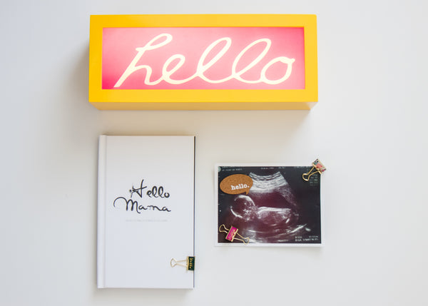 Hello Mama Pregnancy Journal (Hardcover)