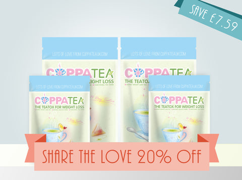 Share the Lovetox! (14 Day Teatox x2)