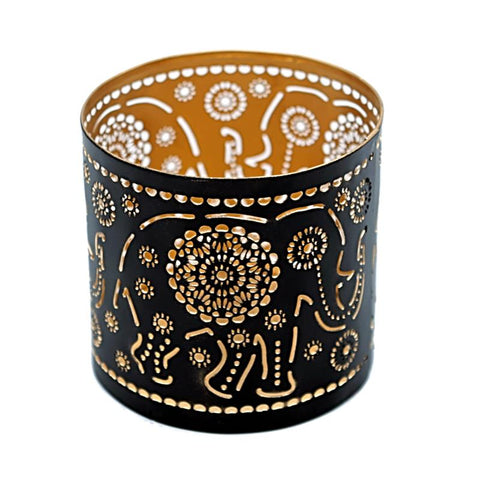Atmospheric Lighting Elephant Tea Light Holder