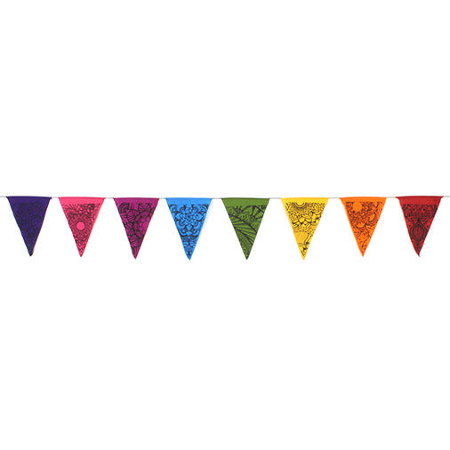 Multicoloured Tattoo Bunting