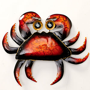 Iron Crab Wall Decoration