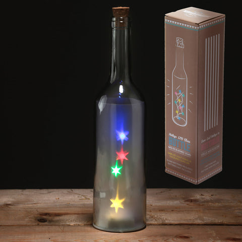 Multicoloured LED Bottle