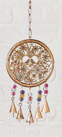 Hanging Tree of Life With Bird and Beads Decoration