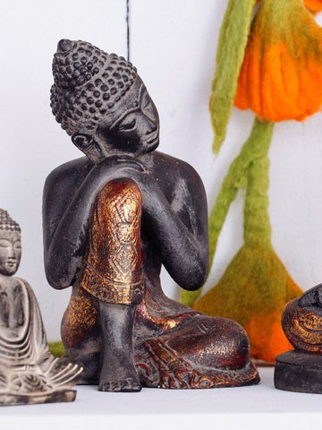 Black and Gold Buddha