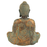 Meditation Buddha With Antique Finish