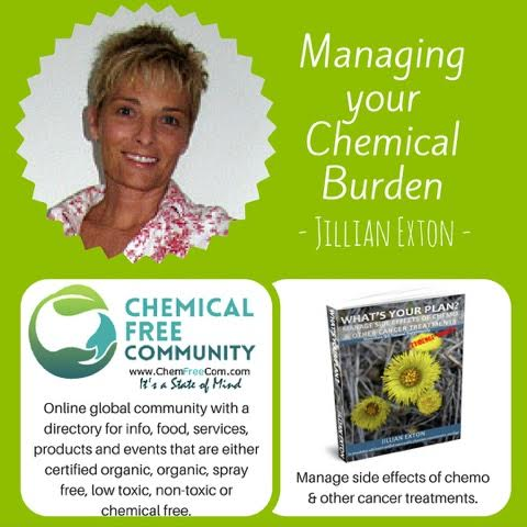 Jillian Exton - cancer survivor and founder of Chemical Free Community