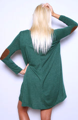 Arch Rivalry Dress - Hunter Green - Worn & Raised  - 3