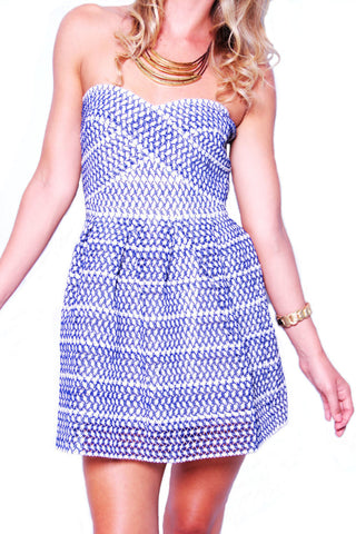 Badmitton Birdie Dress - Blue