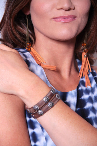 Bohemian Band Bracelet - Brown