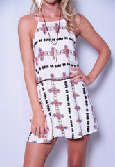 Field Goals Dress - Ivory - Worn & Raised  - 1