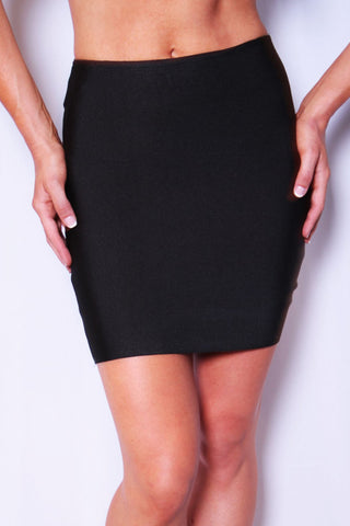 Tighten Up Skirt - Black