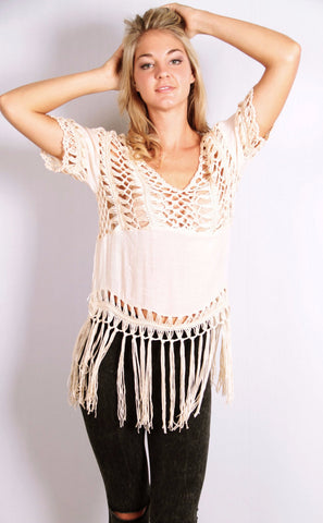 Knit Whit with Fringe