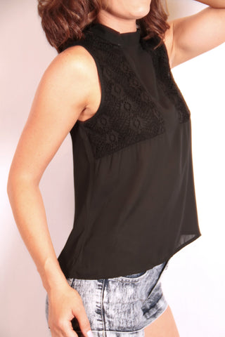 Superstitions Top - Black
