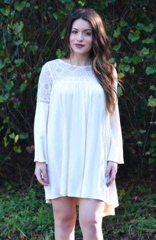 Belles and Whistles Dress - Ivory