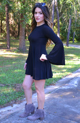 Pretty Sweet Dress - Black - Worn & Raised  - 1