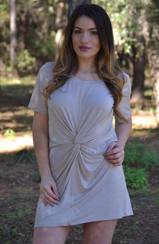 Bring Me Along Dress - Khaki