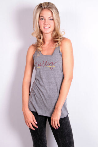 Tally Tank - Heather Grey