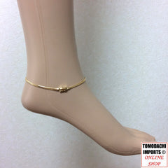 18K Japan Gold Anklet