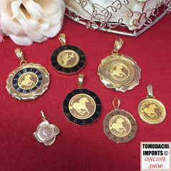 18K Japan Gold Pendants