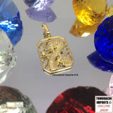 18k Japan Yellow Gold Love Ai Pendant  and Dragon Pendant