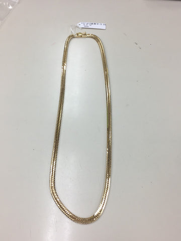 18k Japan Yellow Gold 12 cut 31g 50cm Bracelet