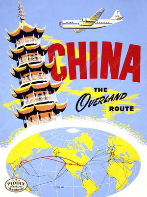 PDXC7363b -- Vintage Travel Posters