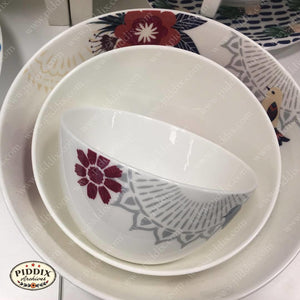 Bird and Flower Bowls -- Piddix Licensed Products Licensed Piddix Product