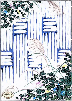 Japanese Woodblock Patterns Pdxc6404 Color Illustration