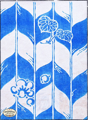 Japanese Woodblock Patterns Pdxc6408 Color Illustration