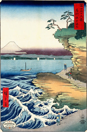 Japanese Woodblocks 1850S Pdxc5680 Color Illustration