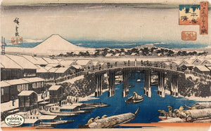 Japanese Woodblocks 1850S Pdxc5809 Color Illustration