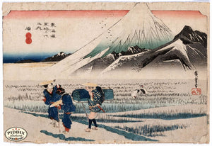 Japanese Woodblocks 1850S Pdxc5810 Color Illustration