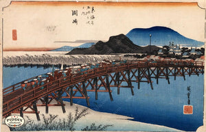 Japanese Woodblocks 1850S Pdxc5811 Color Illustration