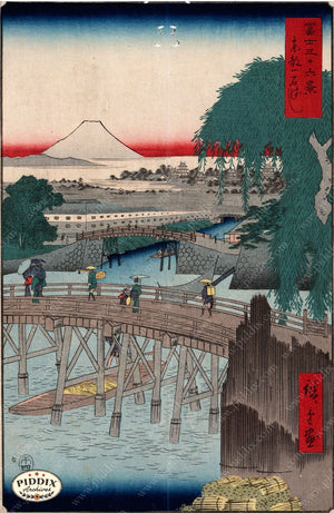 Japanese Woodblocks 1850S Pdxc5813 Color Illustration