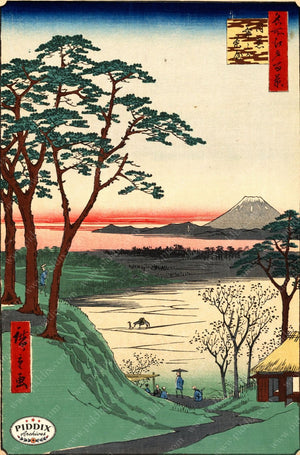 Japanese Woodblocks 1850S Pdxc5818 Color Illustration