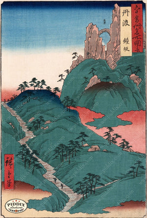 Japanese Woodblocks 1850S Pdxc5820 Color Illustration