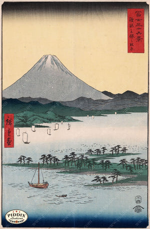 Japanese Woodblocks 1850S Pdxc5823 Color Illustration