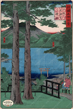 Japanese Woodblocks 1850S Pdxc5824 Color Illustration