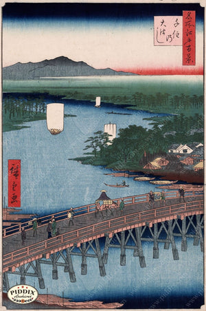 Japanese Woodblocks 1850S Pdxc5825 Color Illustration