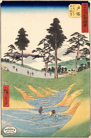Japanese Woodblocks 1850S Pdxc5835 Color Illustration
