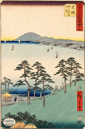 Japanese Woodblocks 1850S Pdxc5836 Color Illustration