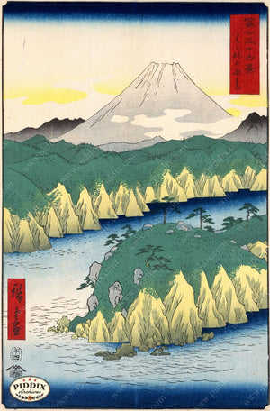Japanese Woodblocks 1850S Pdxc5843 Color Illustration